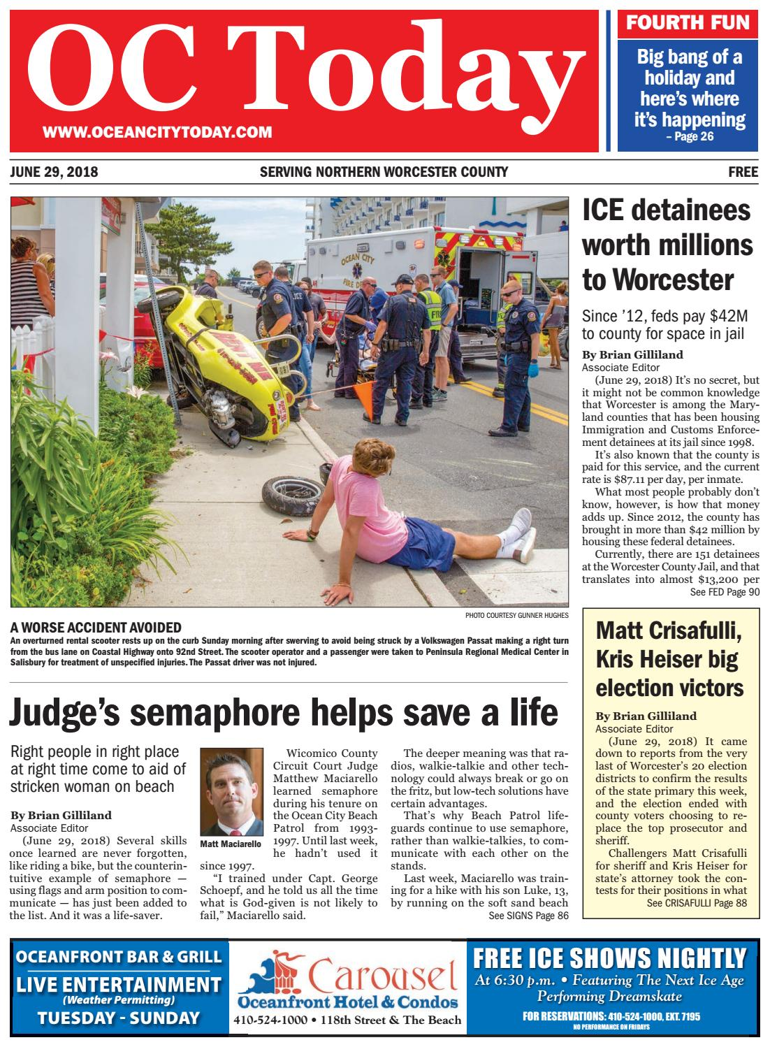 6/29/18 Ocean City Today by ocean city today - issuu