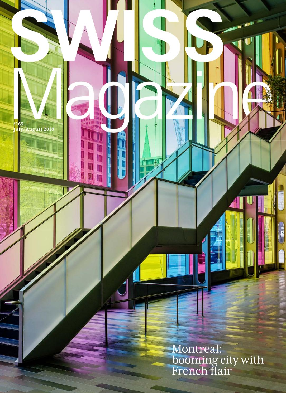 SWISS Magazine July-August 2018 - MONTREAL by Inflight Magazines by ...