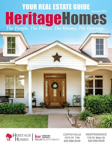 Heritage Homes June 2018 By Dream On Marketing Consulting Issuu