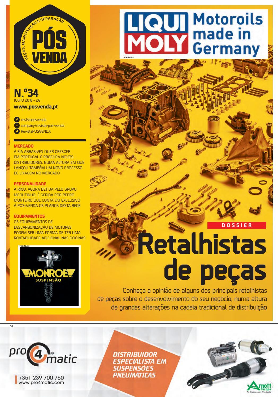 af1254f4d5a Revista Pós-Venda 34 by Revista Pós-Venda - issuu
