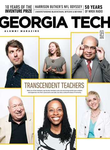 best sneakers 5d42b c88e0 Georgia Tech Alumni Magazine Vol. 94 No. 2 Summer 2018 by Georgia ...