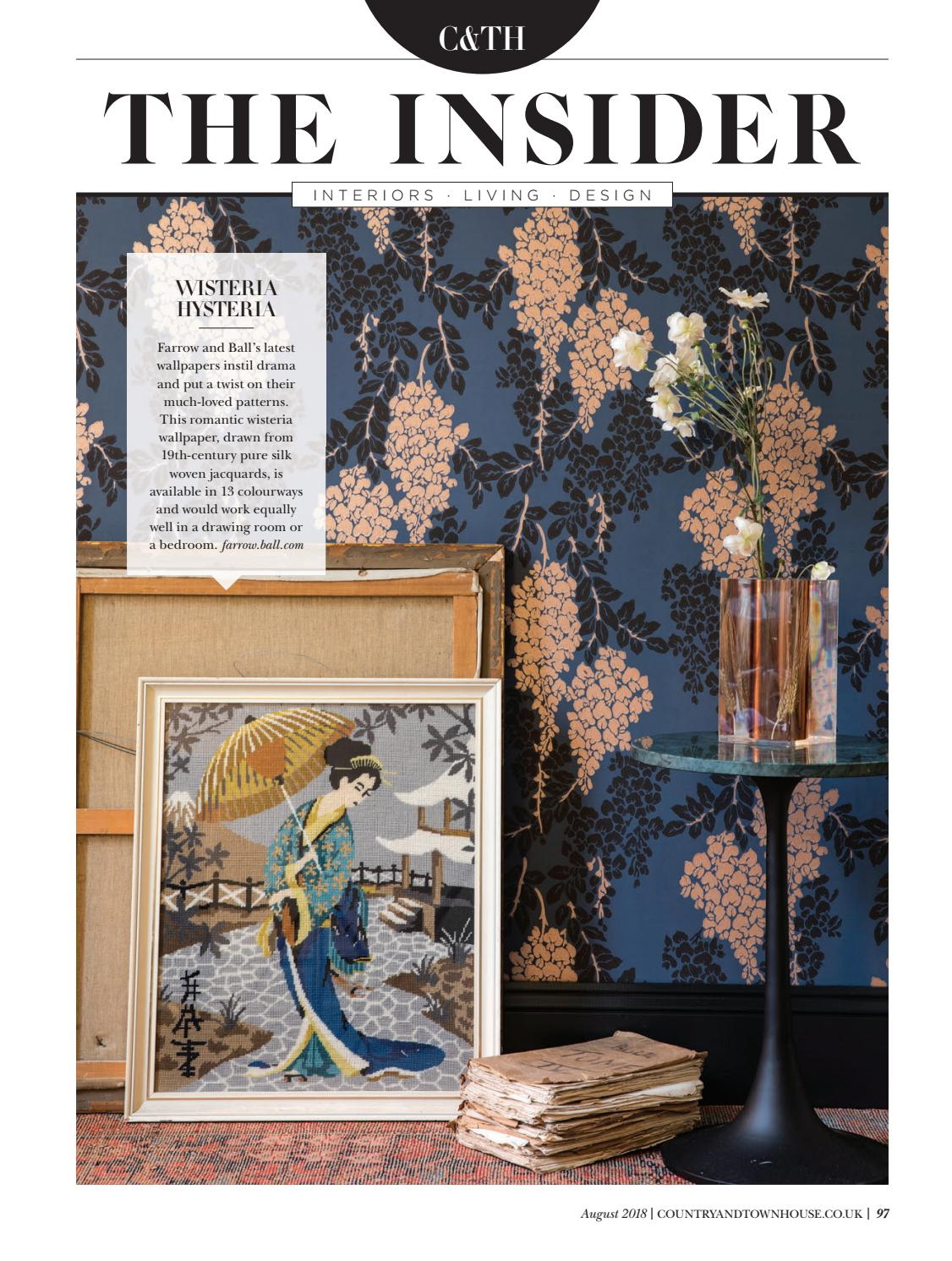 Country & Town House - August 2018