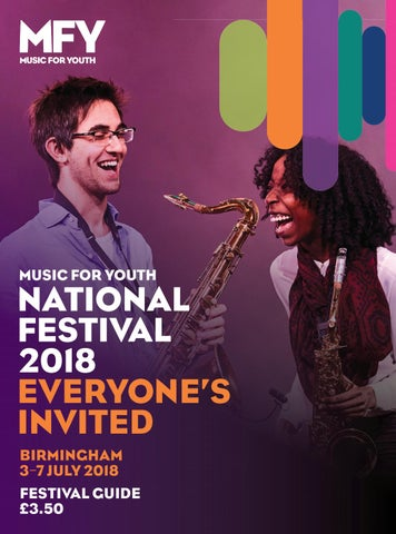 Music for Youth 2018 National Festival Guide by Music for