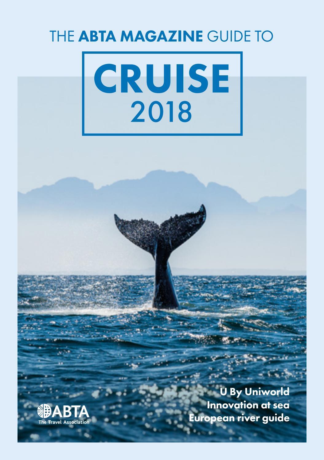 Tv Meubel Avignon Gamma.The Abta Magazine Guide To Cruise 2018 By Abta Magazine Issuu