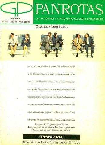 a7ecf8a767 Guia PANROTAS - Edição 204 - Março 1990 by PANROTAS Editora - issuu