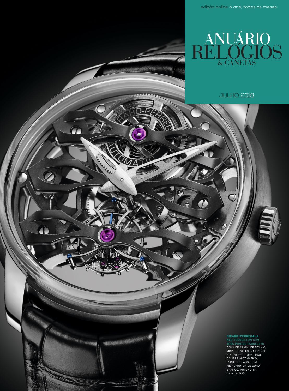 58d5a65c203 Anuário Relógios   Canetas - Julho 2018 by Anuário Relógios   Canetas -  issuu