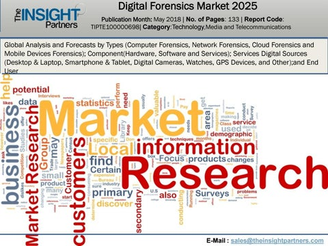Digital Forensics Market to 2025 Global Analysis and Forecast Led by
