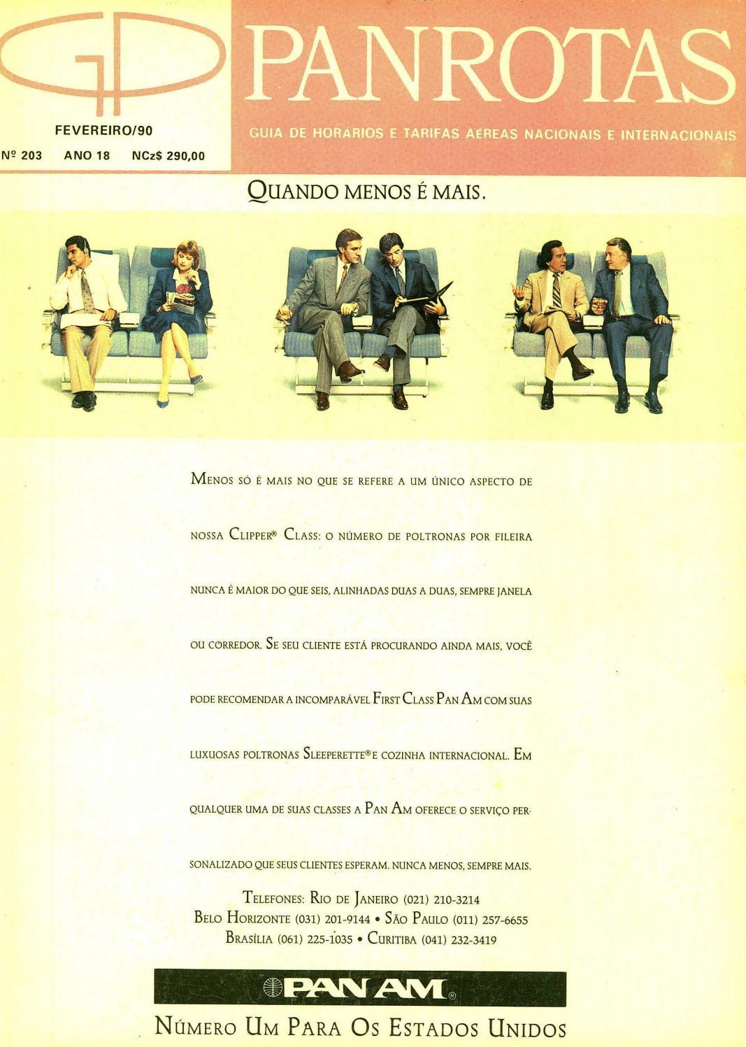 Guia PANROTAS - Edição 203 - Fevereiro 1990 by PANROTAS Editora - issuu 483410a9f2