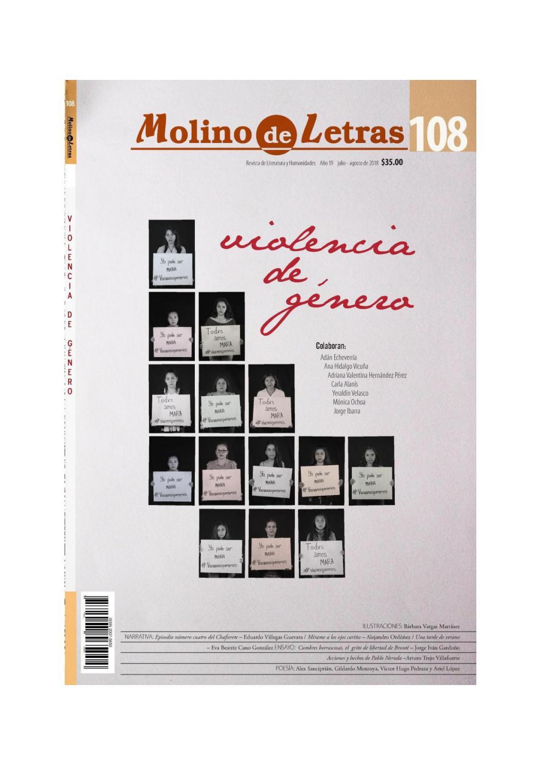 Molino de letras 108: Violencia de género by Molino Letras - issuu