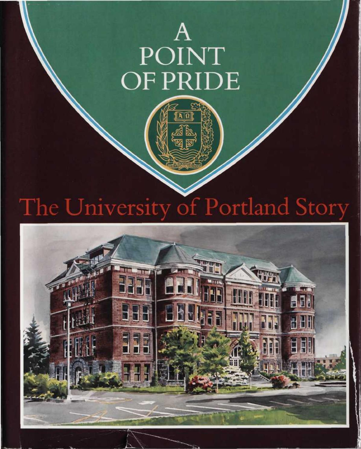 A Point Of Pride The University Of Portland Story By University Of Portland Issuu