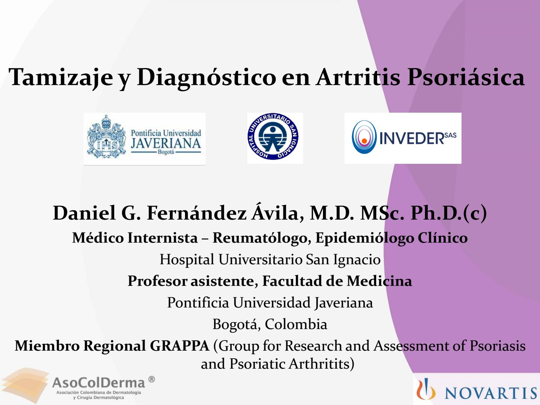 artritis psoriásica diagnóstico