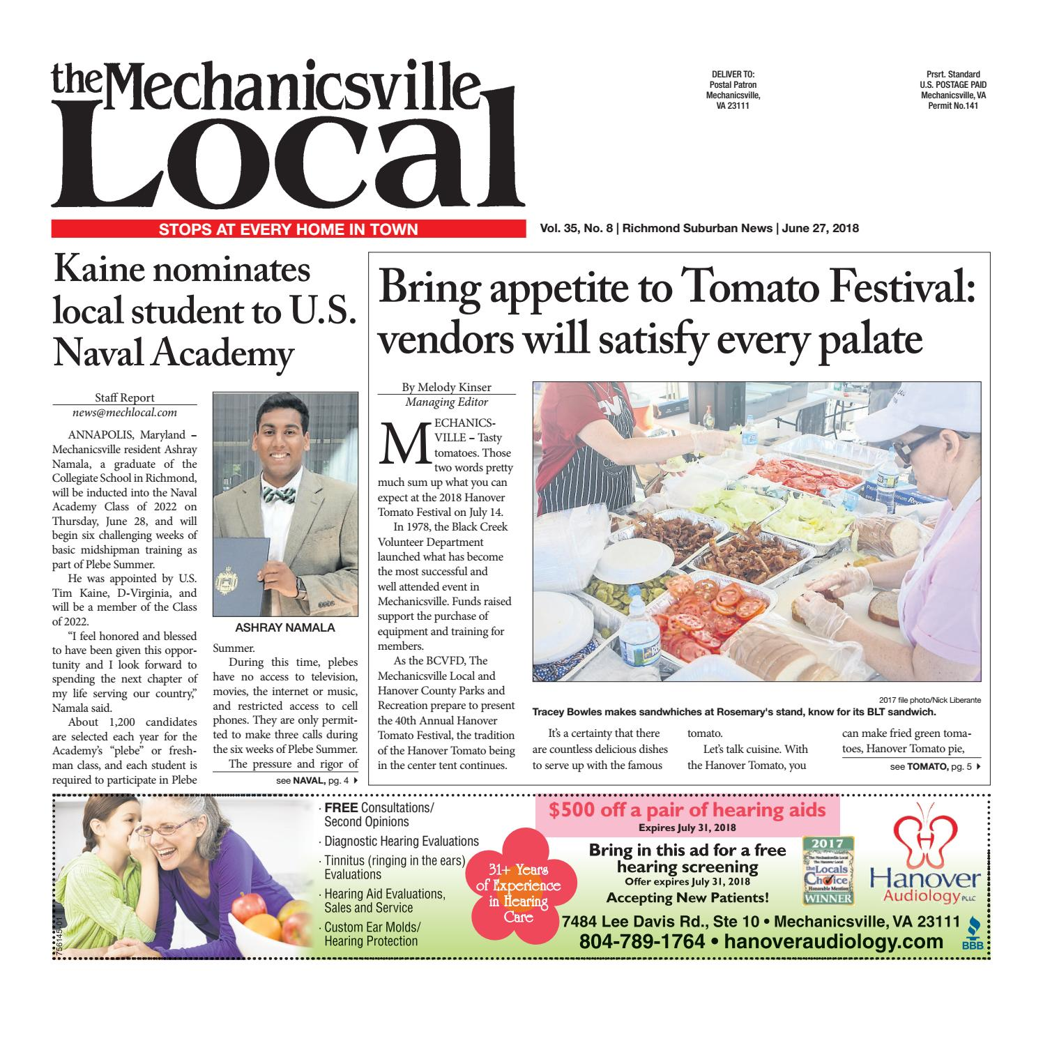 06/27/18 by The Mechanicsville Local - issuu