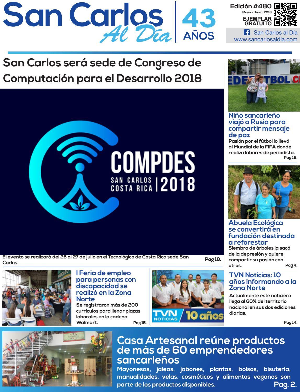 San Carlos al Día - Edición #480 - Mayo - Junio 2018 by San Carlos ...