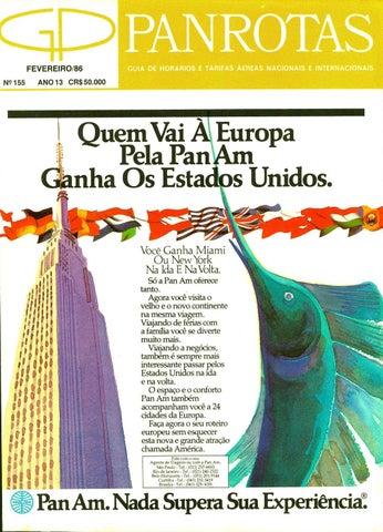 bbb230c84f54f Guia PANROTAS - Edição 155 - Fevereiro 1986 by PANROTAS Editora - issuu