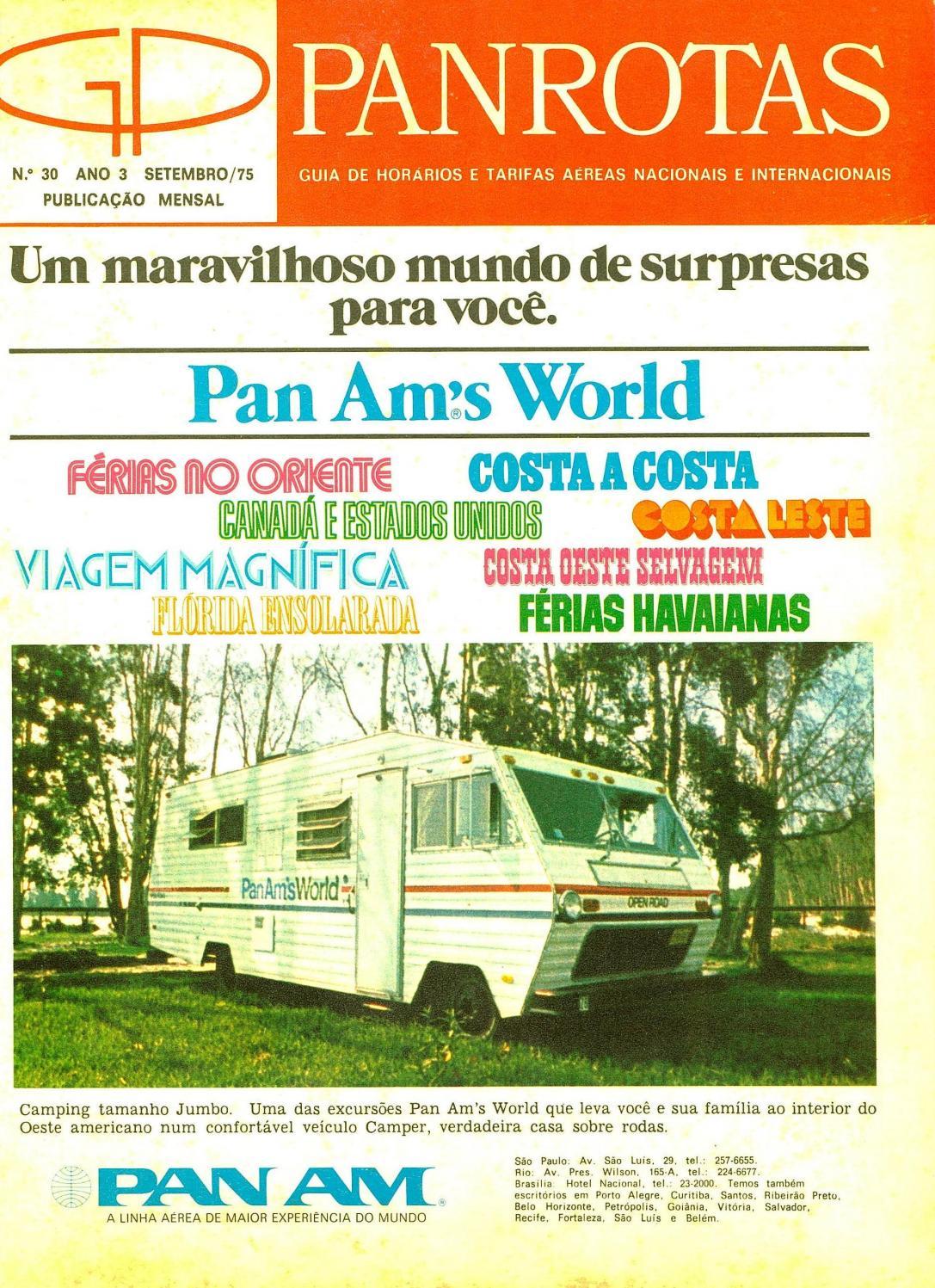 e22bfabb0d Guia PANROTAS - Edição 30 - Setembro 1975 by PANROTAS Editora - issuu