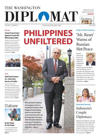 fa27cca11ba2 July 2018 by The Washington Diplomat - issuu