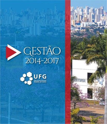 0eb1910b3 Livro de Gestão UFG 2014-2017 by UFG Ascom - issuu