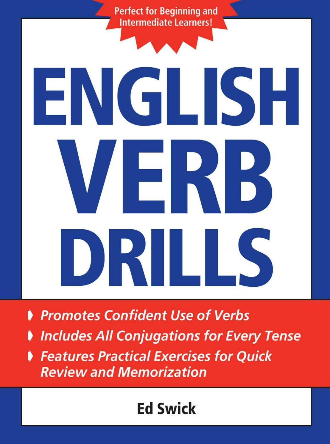 English Verb Drills By Mayarasblog Issuu