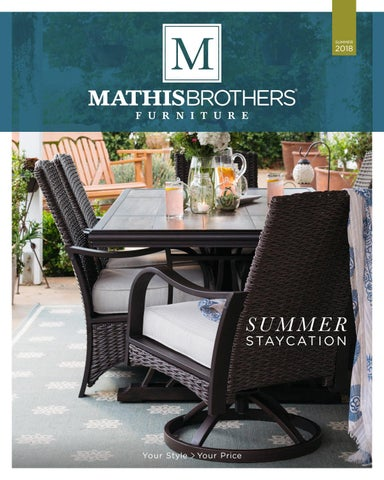 Mathis Brothers 2018 Summer Lookbook By Mathis Brothers Furniture