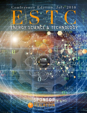 Estc conference program 2018 by Science to Sage - issuu