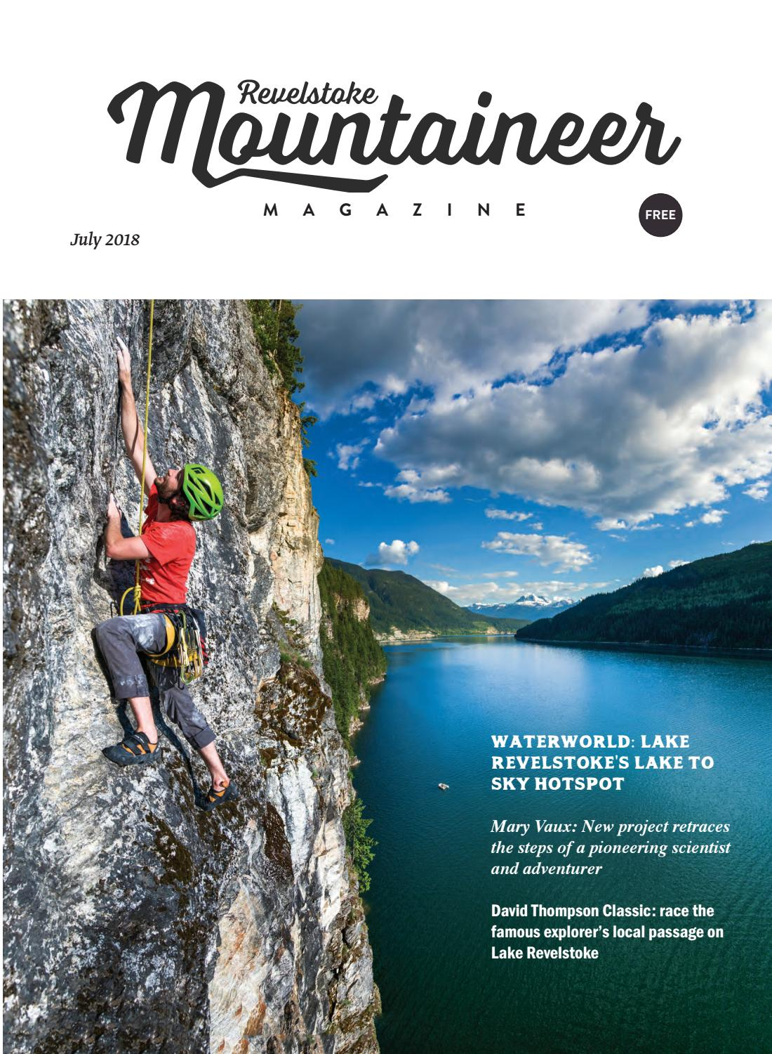 Revelstoke Mountaineer Magazine July 2018 issue by Revelstoke Mountaineer -  issuu