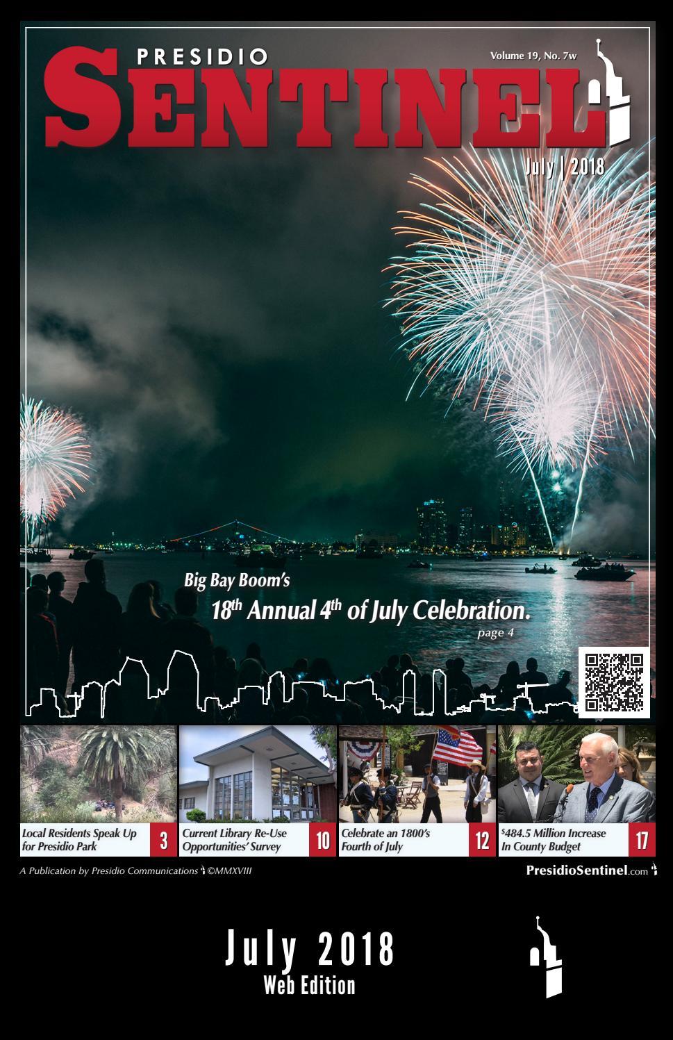 Presidio Sentinel, July 2018, Vol  19, No  07w by Michal