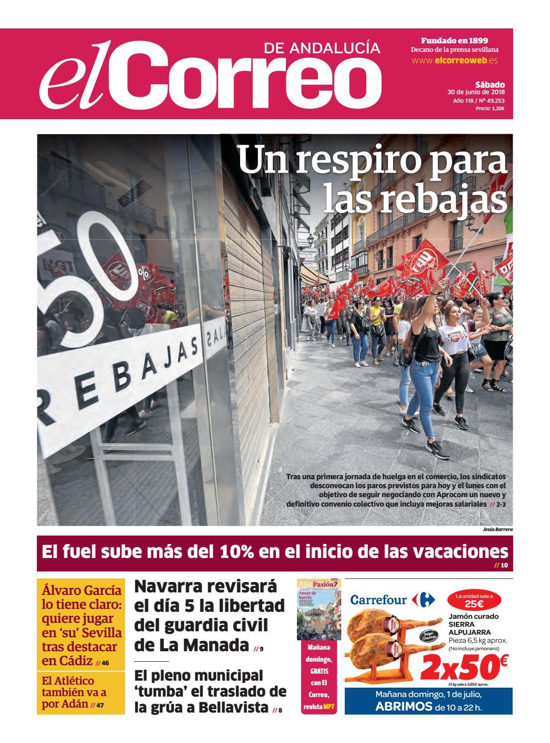 meet 7deca 9ce6e 30.06.2018 El Correo de Andalucía by EL CORREO DE ANDALUCÍA S.L. - issuu