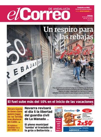 2cadaaa50af 30.06.2018 El Correo de Andalucía by EL CORREO DE ANDALUCÍA S.L. - issuu