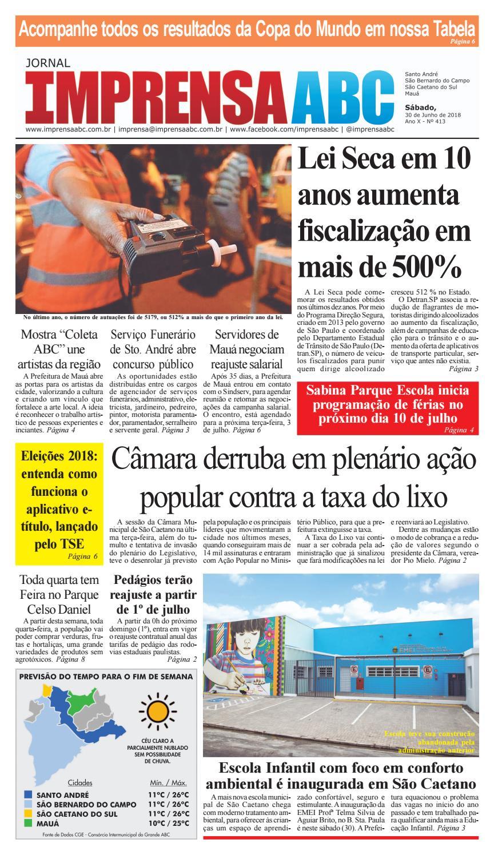 c79699d79d179 Jornal Imprensa do ABC - Edição 413 by Jornal Imprensa ABC - issuu