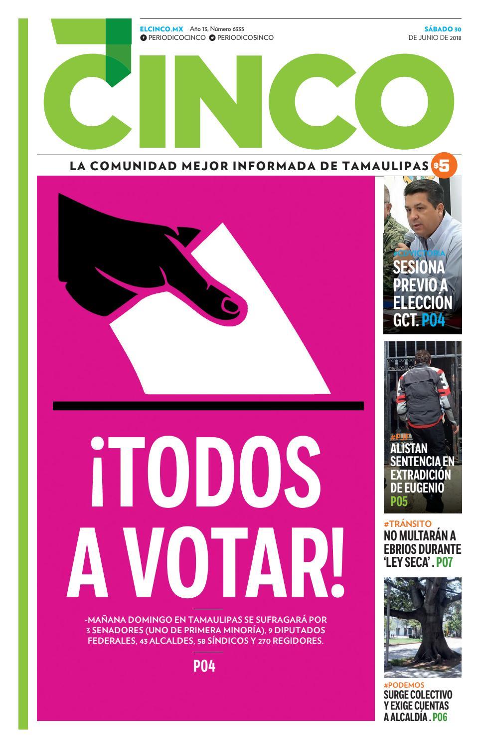 30 junio 18 by Periodico 5inco - issuu