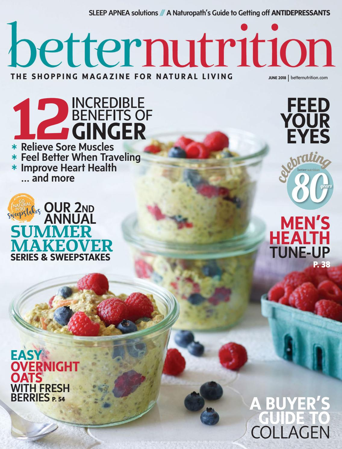 Betternutrition June2018 By Active Interest Media Healthy Living Swisse Raspberry Extract Ketones 60 Vege Capsules Group Retail Division Issuu