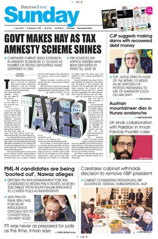 E paper pdf 1 july 2018 (isb) by Pakistan Today - issuu