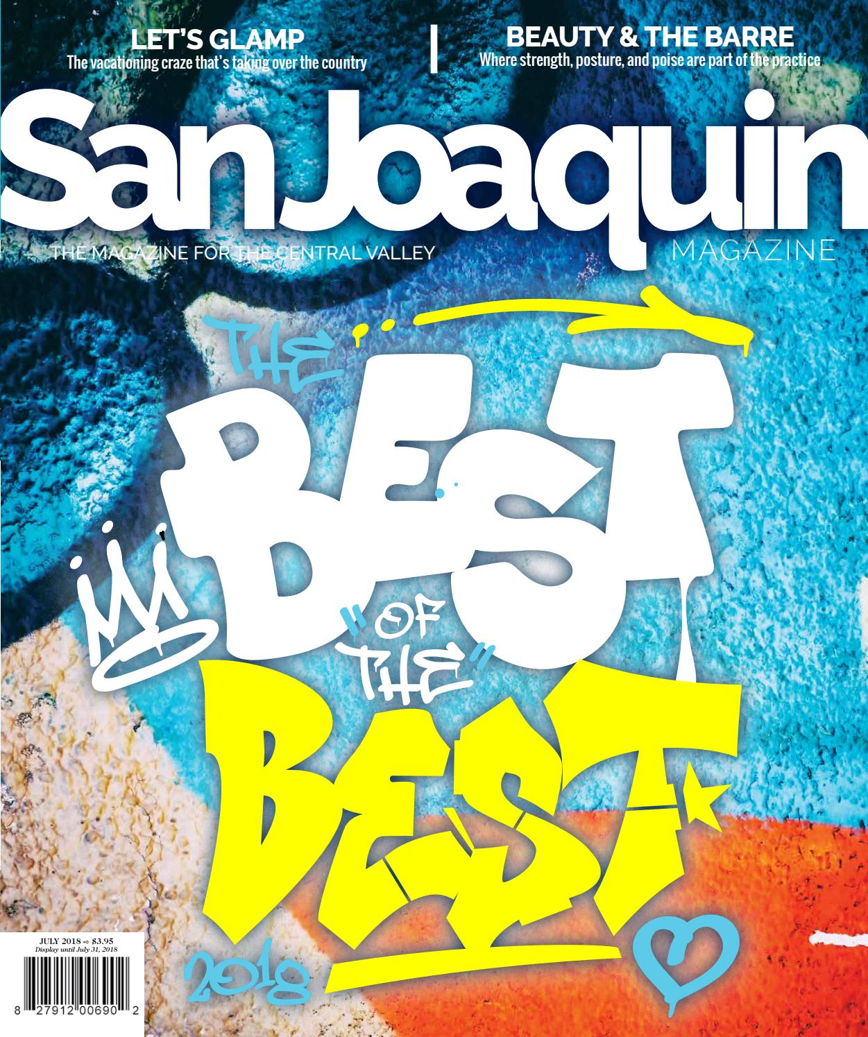 San Joaquin Magazine July 2018 By Issuu Spoon Fork Ub 2 Blue Diamond