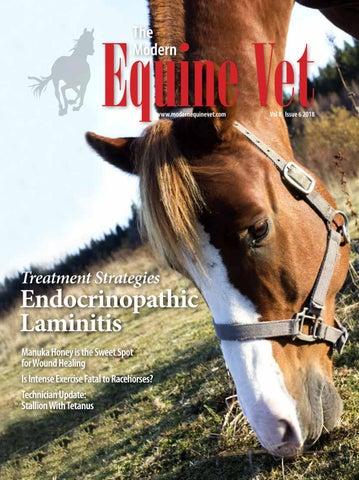 The Modern Equine Vet June 2018 by The Modern Equine Vet - issuu