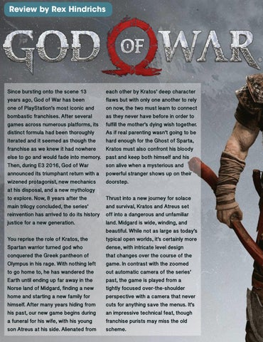 Page 134 of God of War Review and Norse Mythology
