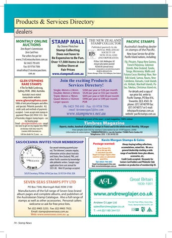 Stamp News Australasia - January 2018