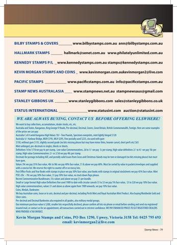 Stamp News Australasia January 2018 By Stamp News