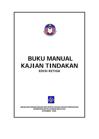 Buku Manual Kajian Tindakan by MHY - issuu