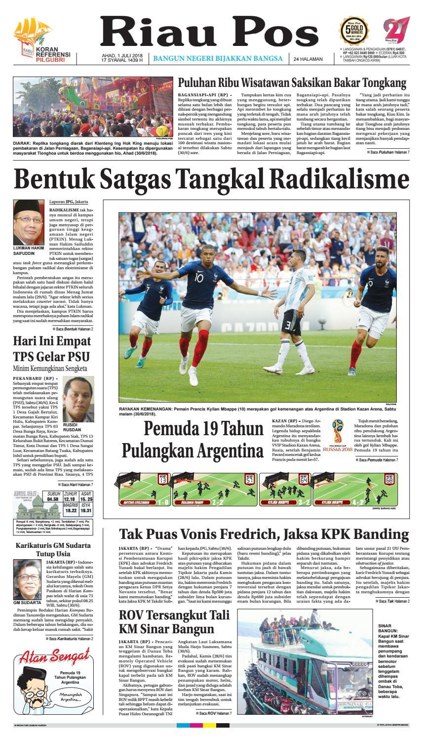 2018 07 01 By Riau Pos Issuu