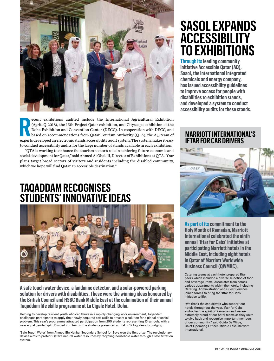 Qatar Today June-July 2018 by Oryx Group of Magazines - issuu