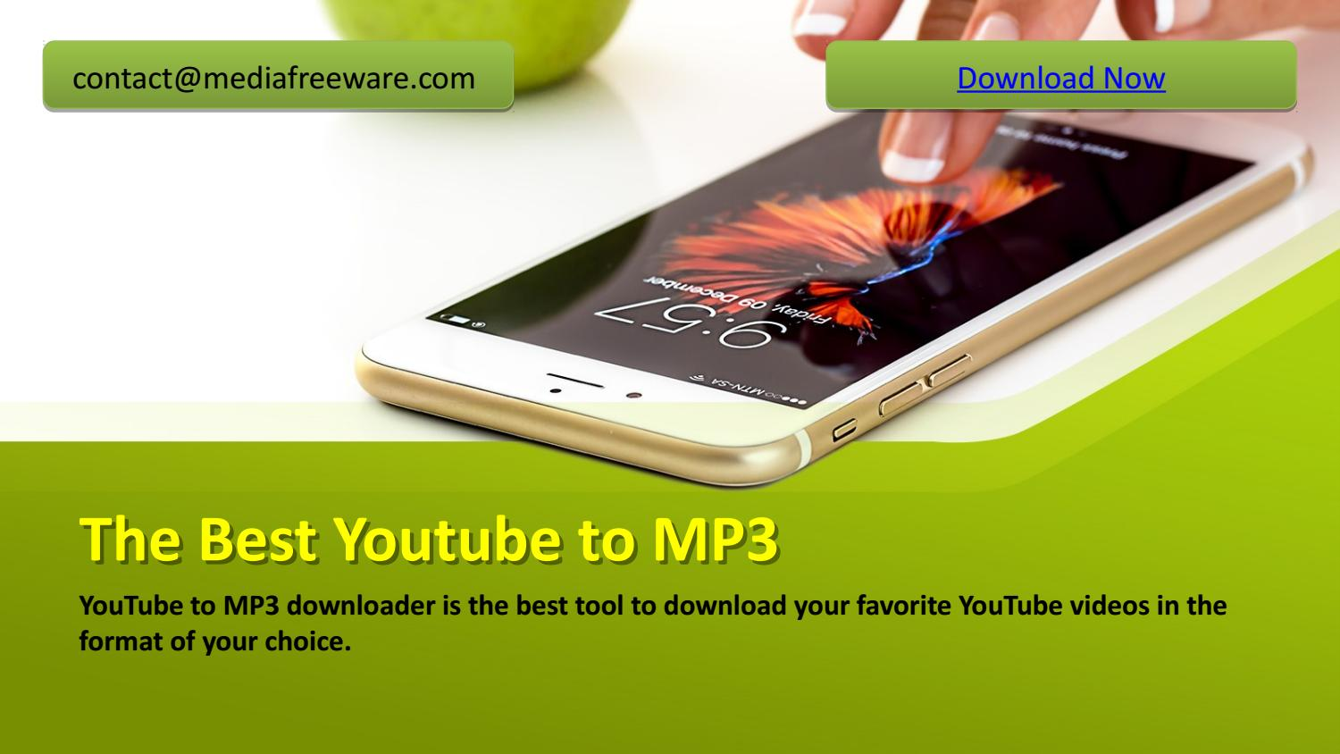 YouTube to MP3 downloader is the best tool to download your