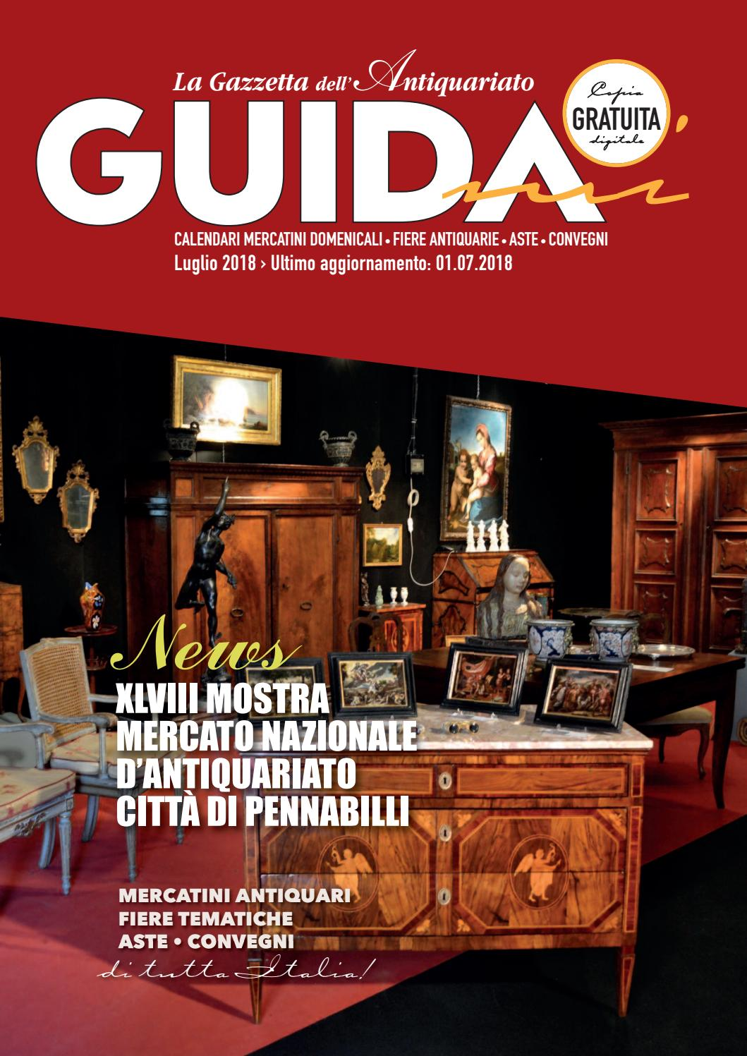 Calendario Mercatini Antiquariato Puglia.Guidami Luglio 2018 By La Gazzetta Dell Antiquariato Issuu