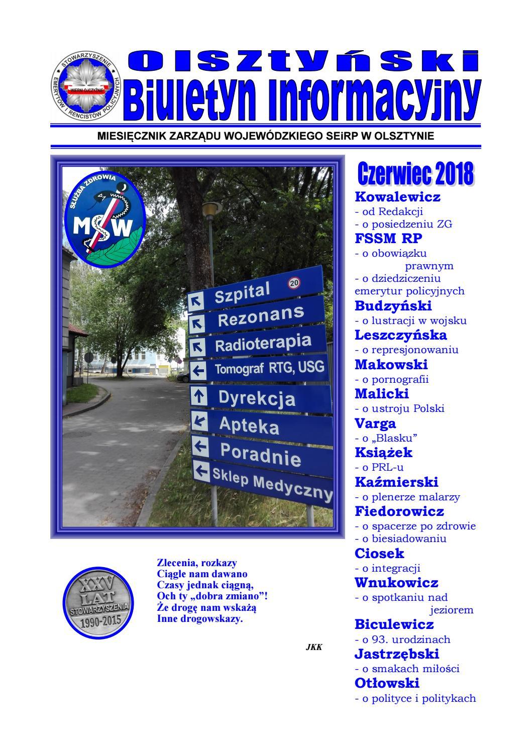 Obi098 By Olsztyński Biuletyn Informacyjny Zw Seirp Olsztyn