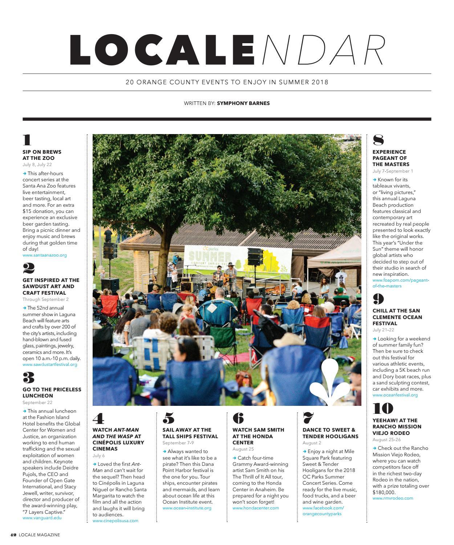 Orange County July 2018 by Locale Magazine - issuu