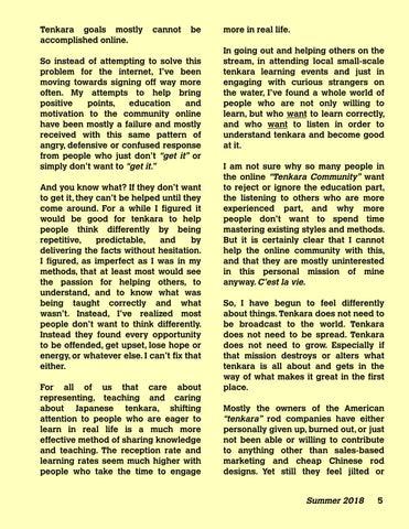 Page 7 of Taking Tenkara Off-Line
