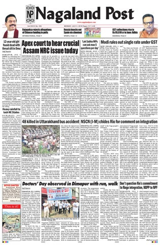 July 2 2018 by nagaland post issuu page 1 thecheapjerseys Images