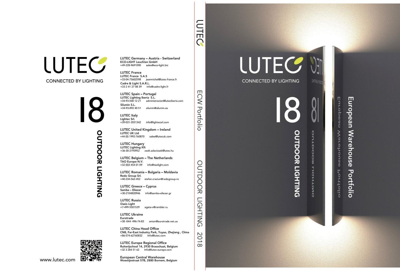 9W IP54 Compact Die-cast Aluminium Brick Light C//w Lamp