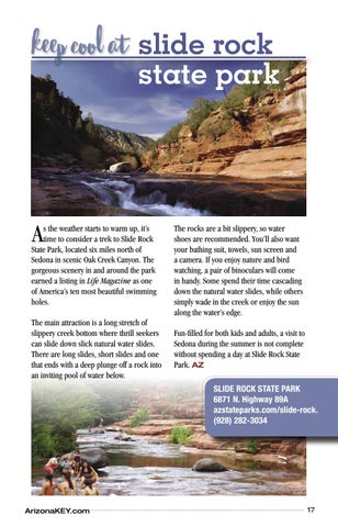 Page 17 of Keep Cool at Slide Rock State Park