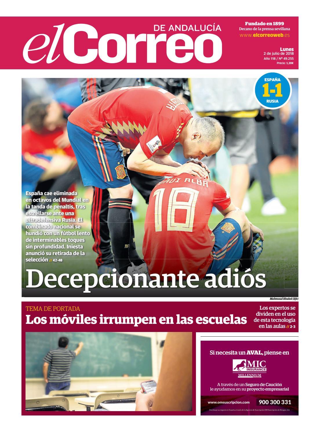 02.07.2018 El Correo de Andalucía by EL CORREO DE ANDALUCÍA S.L. - issuu 170ac0a01a3