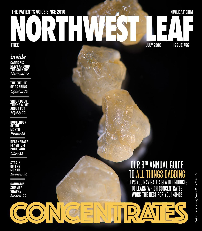 Northwest Leaf — July 2018 by Northwest Leaf Oregon Leaf